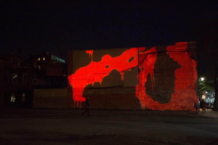 L'oeuvre Murs aveugles, d'Isabelle Hayeur... (Photo: fournie par l'artiste)