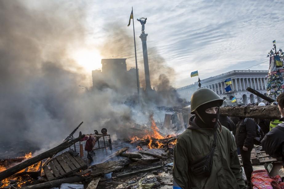 Cofondateur du collectif Prime, établi à Moscou depuis deux ans, le photographe documentaire Brendan Hoffman a publié dans  TIME  ou le  New York Times . Avec  EUROMAIDAN , il présentera l'occupation de la place de l'indépendance à Kiev.   31 octobre 2014