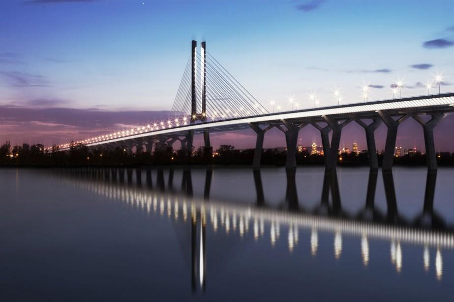 Otawa souhaite annoncer le nom du nouveau pont... (PHOTO FOURNIE PAR INFRASTRUCTURE CANADA)