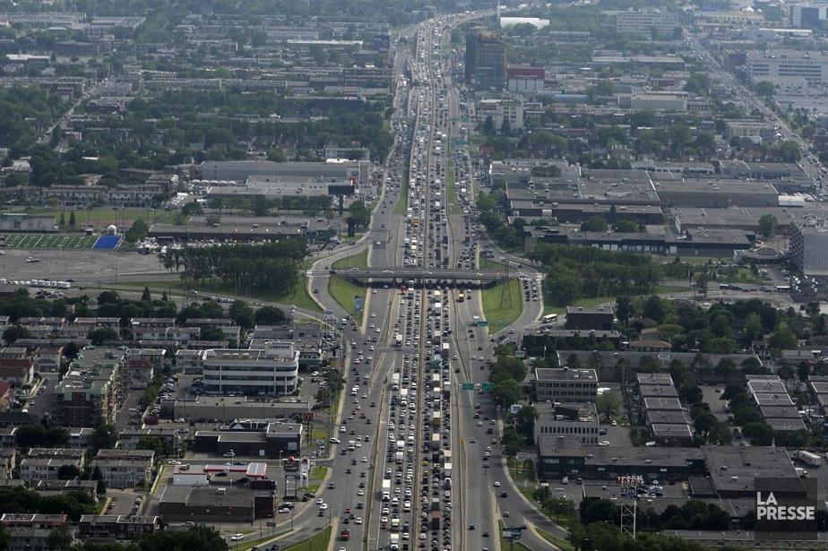 Seule exception, le secteur des transports: les villes... (Photo: Bernard Brault, archives La Presse)