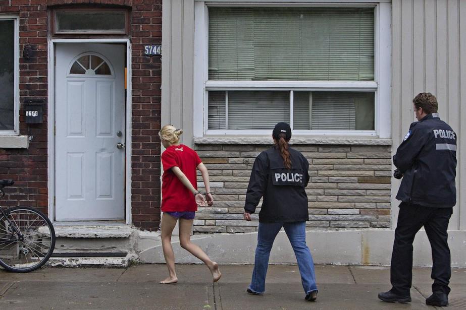 Si Montréal-Nord et Saint-Michel, fiefs des gangs de... (Photo Félix O.J. Fournier, collaboration spéciale)