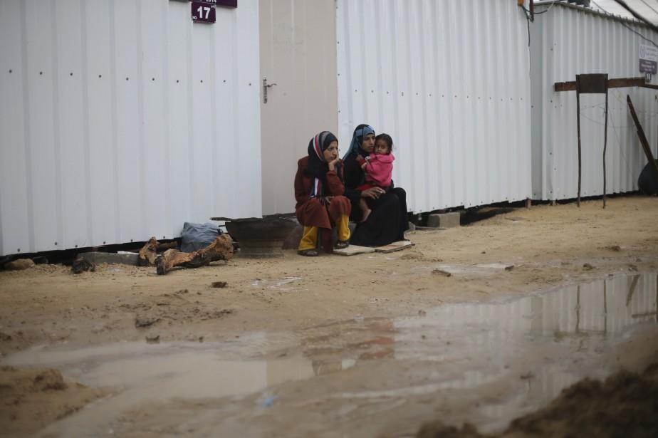 Les deux points de passage entre Israël... (Photo IBRAHEEM ABU MUSTAFA, REUTERS)