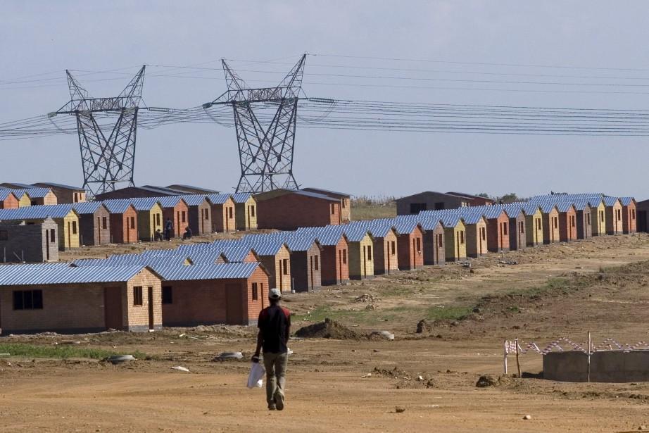 La forte croissance des années 2000 en Afrique... (Photo GREG MARINOVICH, Archives Bloomberg)