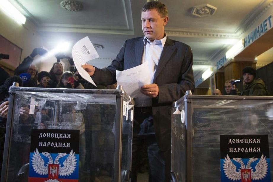 Alexander Zakharchenko... (Photo Dmitry Lovetsky, AP)