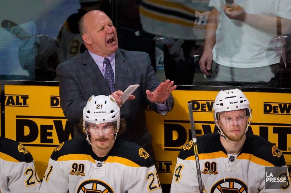 L'entraîneur des Bruins de Boston, Claude Julien.... (Photos André Pichette, archives La Presse)