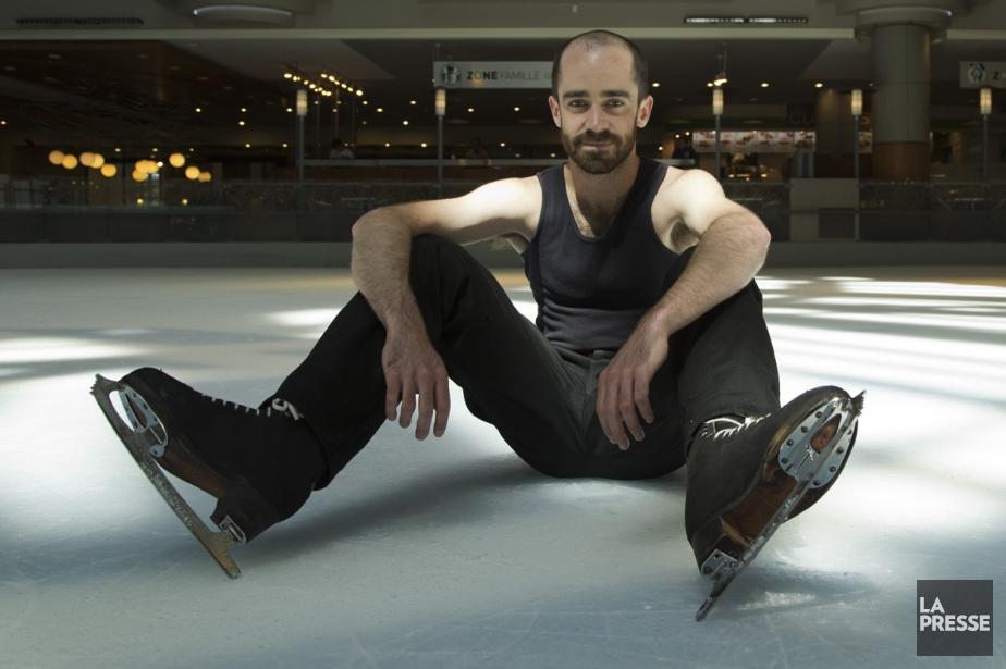 Alexandre Hamel, fondateur du Patin libre et patineur.... (Photo: Simon Giroux, La Presse)