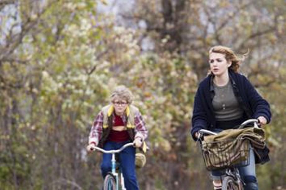 Produit par la maison Caramel Films dirigée par André Rouleau, <em>Wait Till Helen Comes</em> met en vedette, outre les soeurs Nélisse, Liam Dickinson (à gauche). (Photo: fournie par Films Séville)