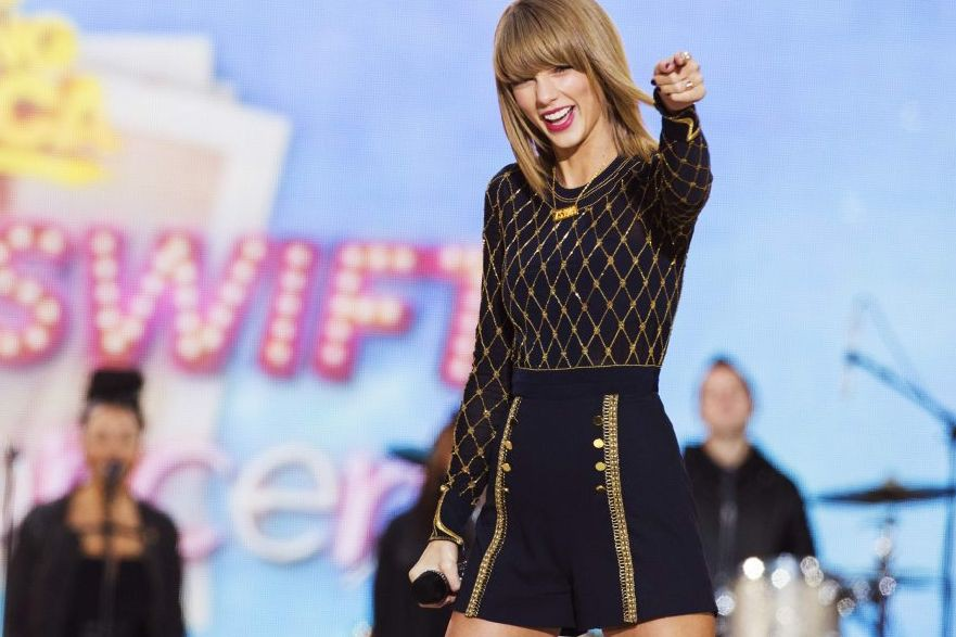Taylor Swift... (Photo: Reuters)