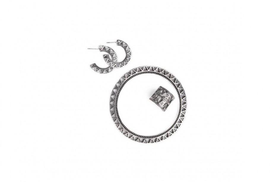 La designer de bijoux montréalaise Myriam Elie... (Photo fournie par Myel Design)
