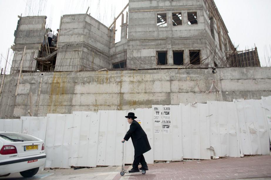 Ce programme de 500 logements est destiné au... (PHOTO AHMAD GHARABLI, ARCHIVES AFP)