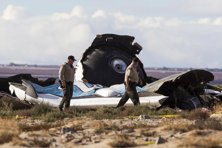 L'accident s'est produit 11 secondes après que SpaceShipTwo... (Photo Ringo H.W. Chiu, AP)