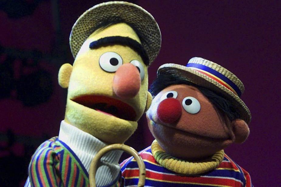 Bert et Ernie de Sesame Street.... (Photo: AP)