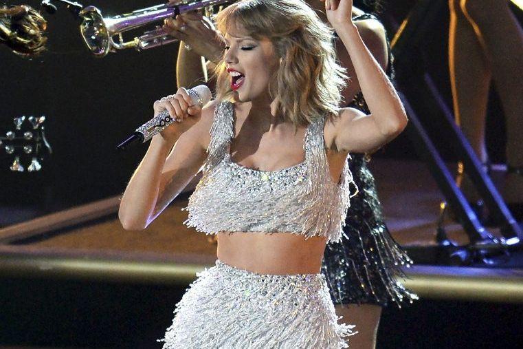 Taylor Swift en spectacle dans le cadre des... (Photo: archives AFP)