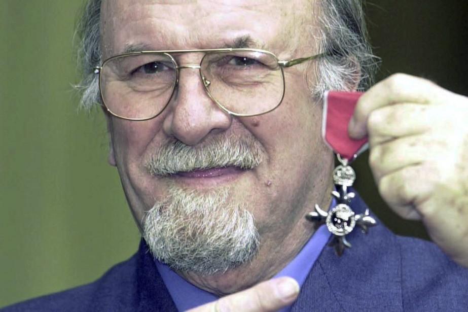 Acker Bilk en mars 2001.... (Photo: archives AP)