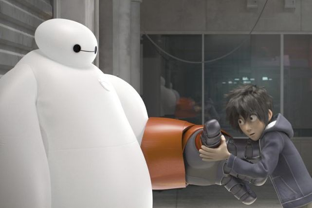 Big Hero 6... (Photo: fournie par Disney)