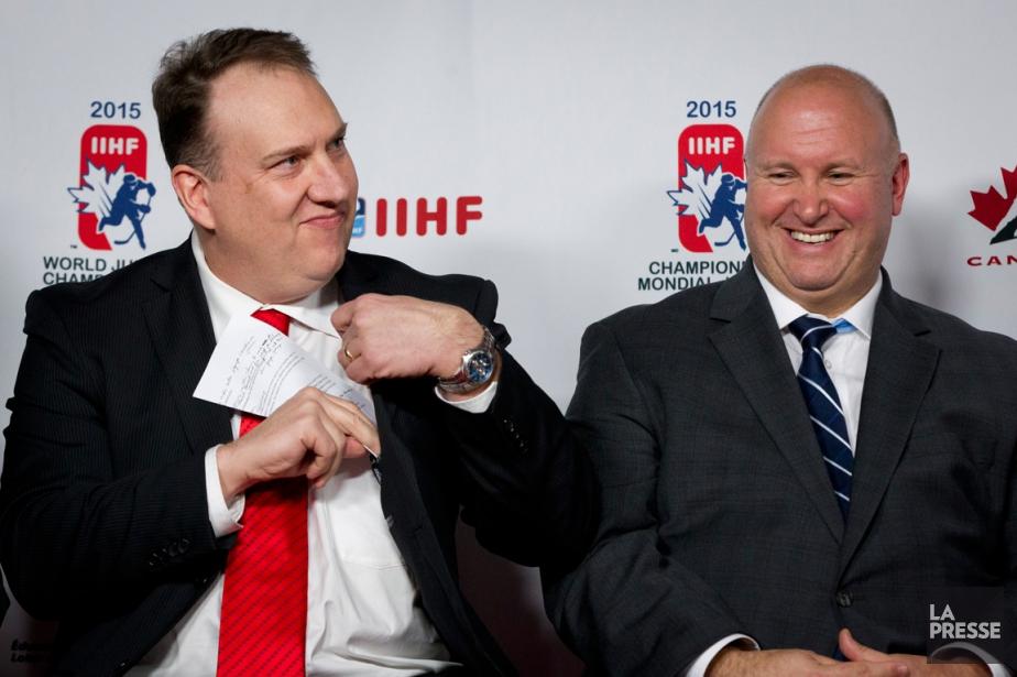 Rivaux dans la LHJMQ, Martin Raymond et Benoit... (Photo Ivanoh Demers, La Presse)
