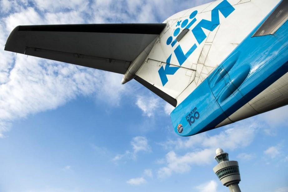 Air France-KLM a annoncé mardi qu'il allait... (PHOTO REMKO DE WAAL, AFP)
