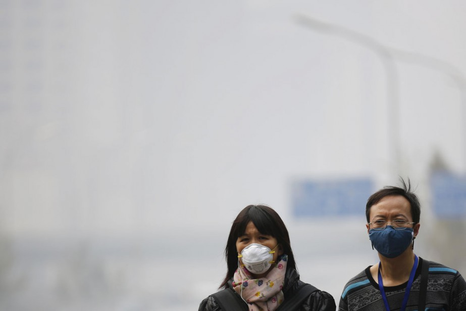 Pékin a enregistré en octobre une succession de... (PHOTO KIM KYUNG-HOON, ARCHIVES REUTERS)