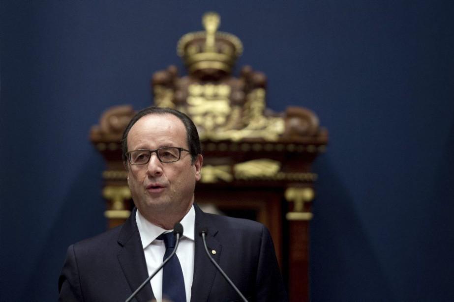 François Hollande... (PHOTO ALAIN JOCARD, AGENCE FRANCE-PRESSE)