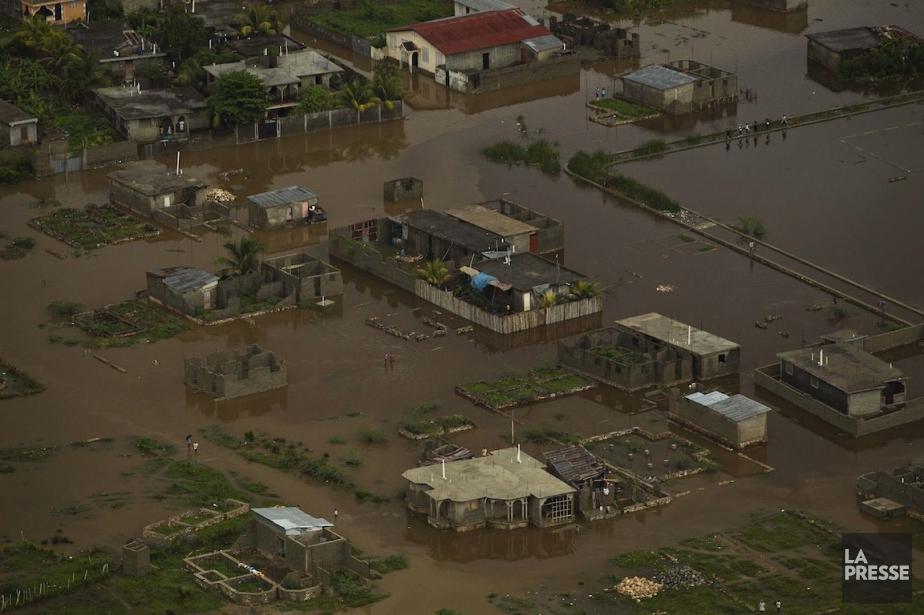 Vue aérienne deCap-Haïtien lors des inondations de 2012.... (Photo Logan Abassi, Archives REUTERS)