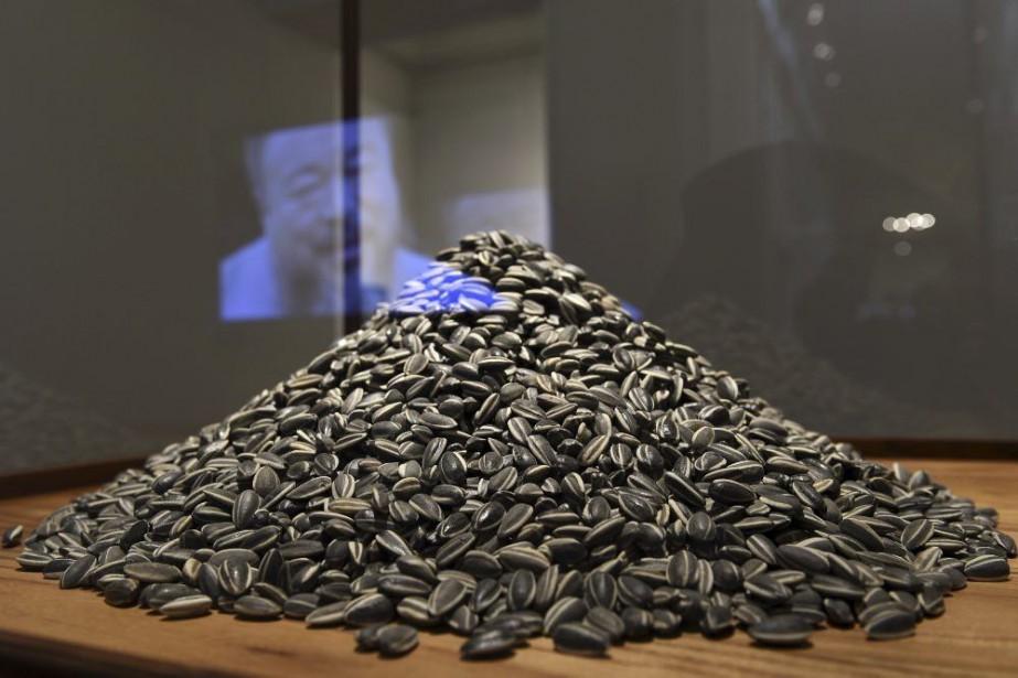 Sunflower Seeds, une petite installation qui se compose... (Photo: AFP)