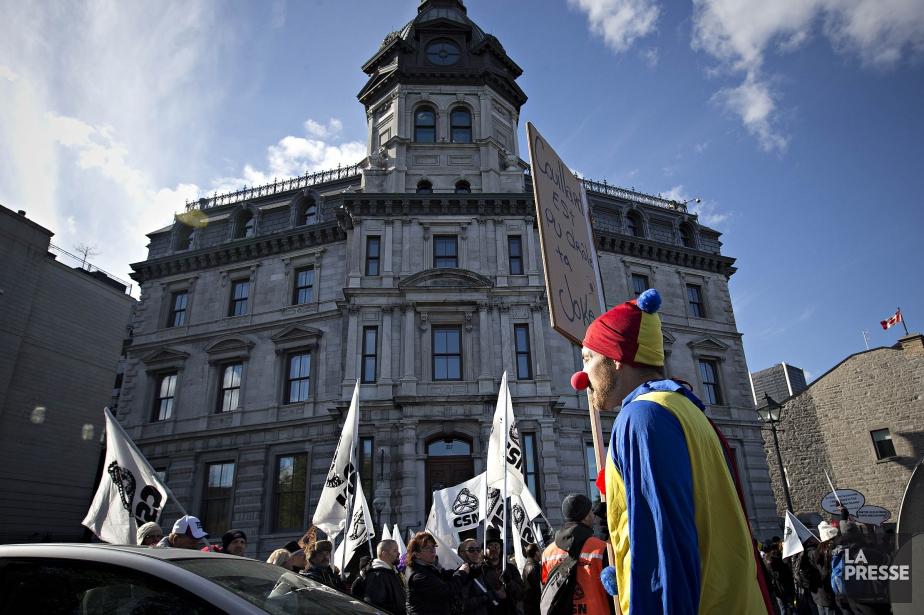 Comment les centrales peuvent-elles tenir sérieusement ce discours?... (Photo Patrick Sanfaçon, La Presse)