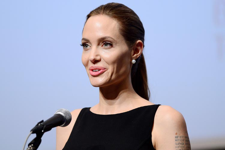Angelina Jolie... (Photo: archives AFP)