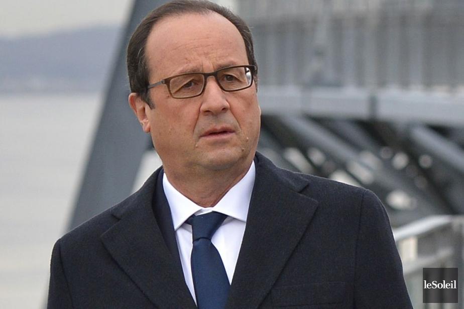 François Hollande... (PHOTO YAN DOUBLET, ARCHIVES LE SOLEIL)