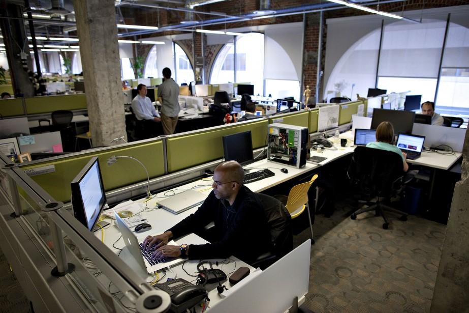 Les bureaux d'Autodesk à San Francisco.... (Photo archives Bloomberg)