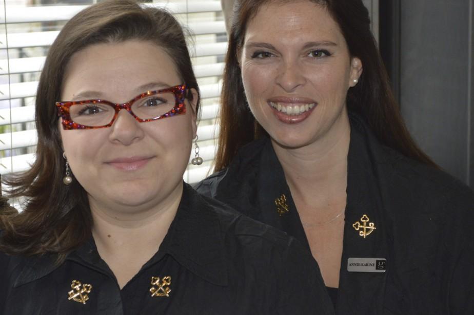 Véronique Forest et Annie-Karine Lachance... (PHOTO FOURNIE PAR LE GERMAIN-DOMINION)