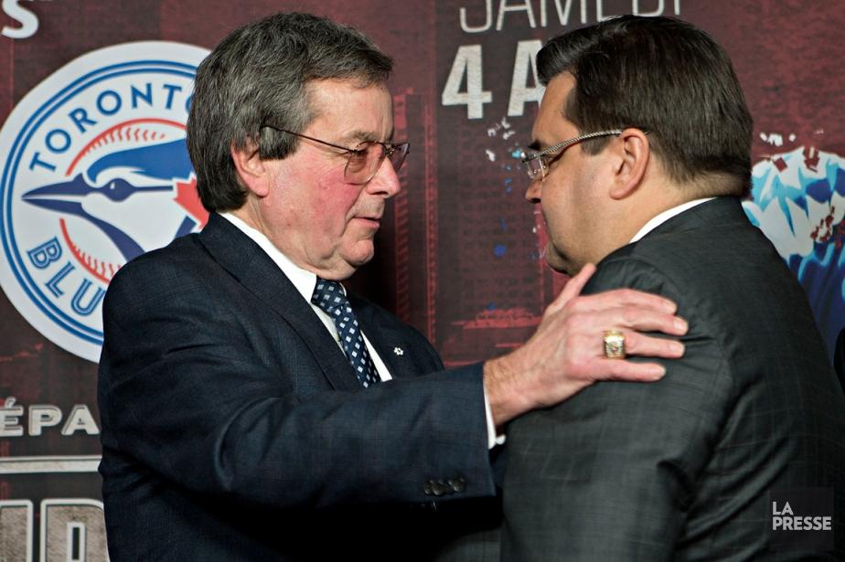 Paul Beeston, président des Blue Jays de Toronto,... (Photo Patrick Sanfaçon, La Presse)