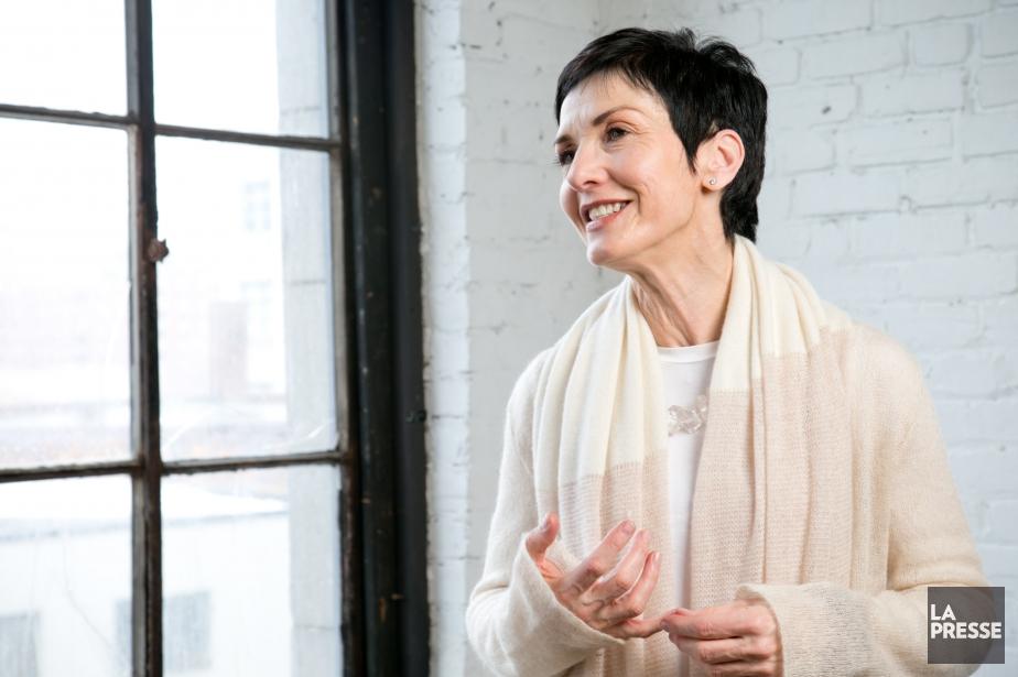 L'auteure et yogi Nicole Bordeleau... (Photo David Boily, La Presse)