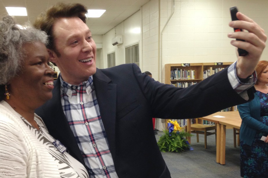 L'ancien candidat de l'émission American Idol Clay Aiken... (Photo Colleen Jenkins, archives Reuters)