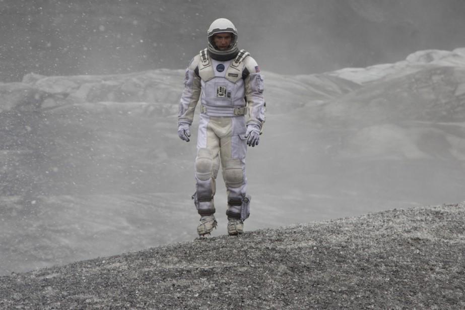 Matthew McConaughey dans Interstellar.... (Photo: fournie par Paramount Pictures)