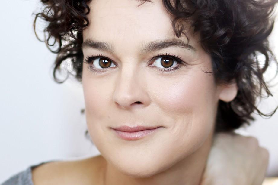 La comédienne Hélène Bourgeois Leclerc.... (Photo Julie Perreault)
