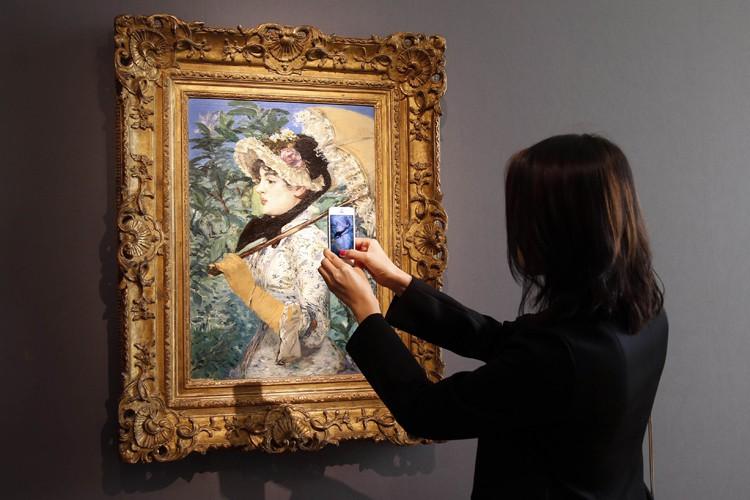 Le Printempsd'Edouard Manet.... (Photo: Reuters)