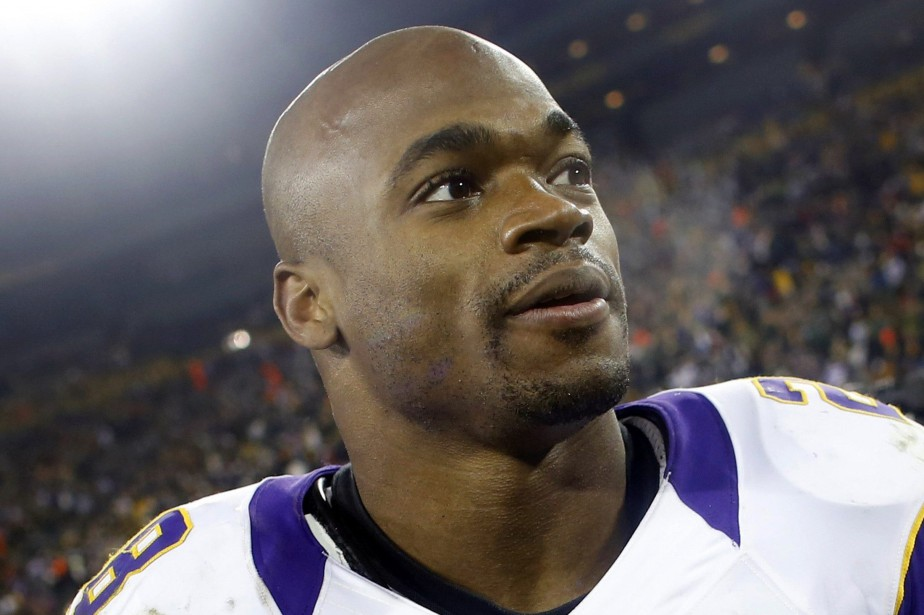 Adrian Peterson... (Photo Tom Lynn, archives Reuters)