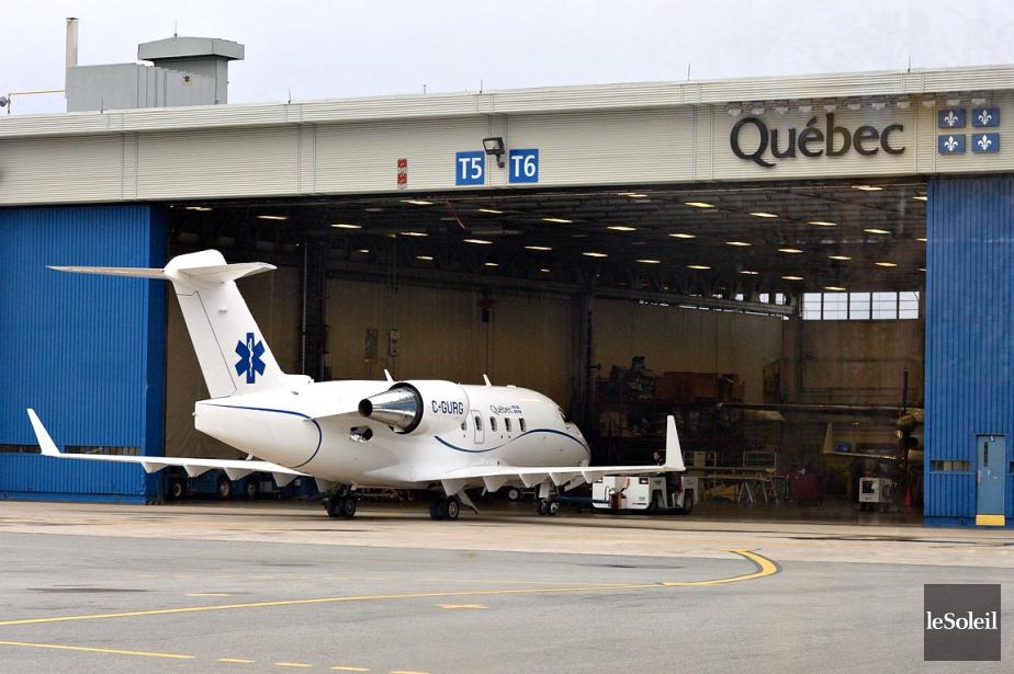 Le nouvel avion-hôpital freiné par la pluie et la neige - LaPresse.ca