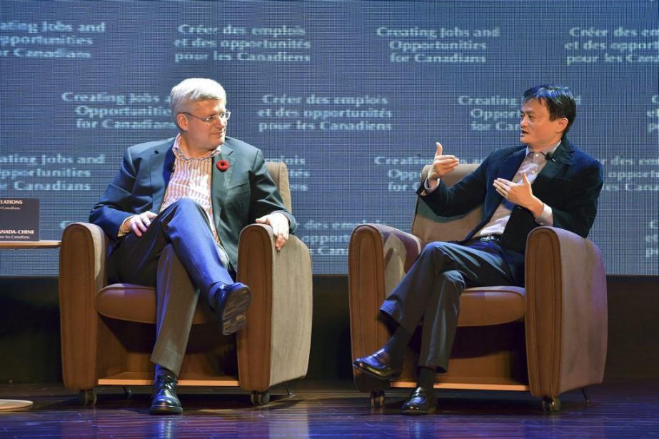 Le premier ministre Stephen Harper s'est entre autres... (Photo Reuters)
