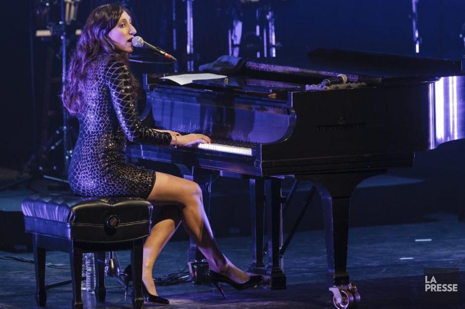 Florence K présentait son spectacle I'm Leaving You... (Photo: Édouard Plante-Fréchette, La Presse)