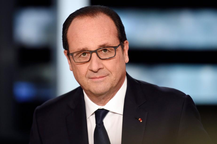 Le président de la France, François Hollande.... (Photo Martin Bureau, AP)