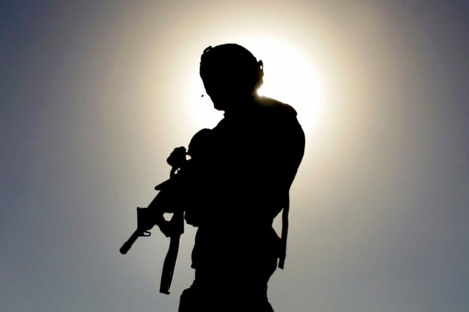 C'est la première fois que des troupes américaines... (PHOTO JORGE SILVA, ARCHIVES REUTERS)