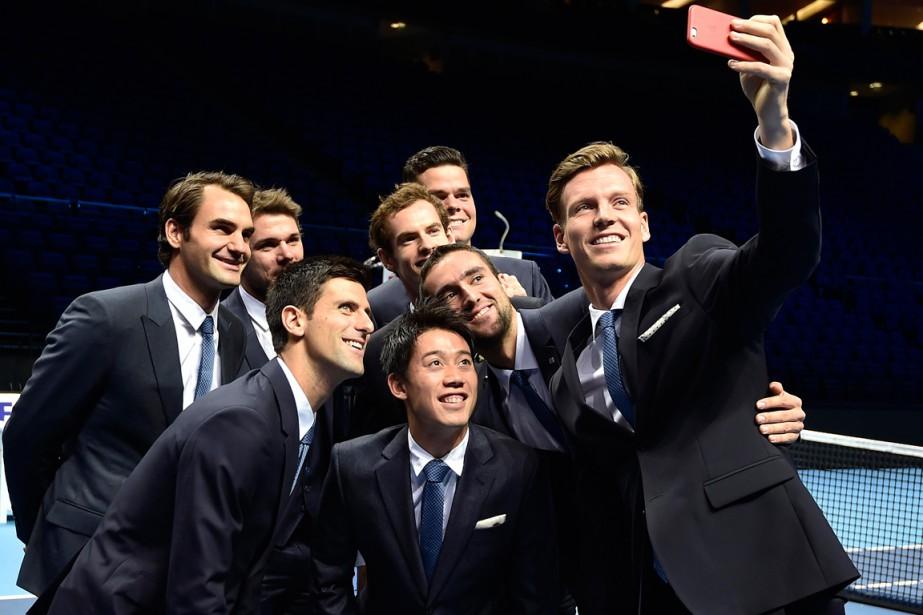 Les huit participants du dernier tournoi de la... (Photo Toby Melville, Reuters)