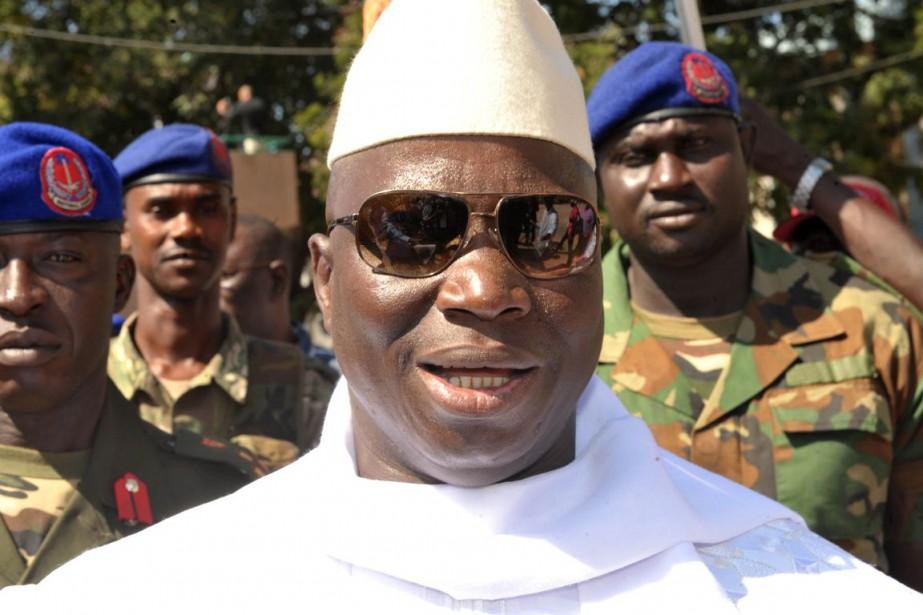 La Gambie est dirigée d'une main de fer... (PHOOT SEYLLOU, ARCHIVES AFP)