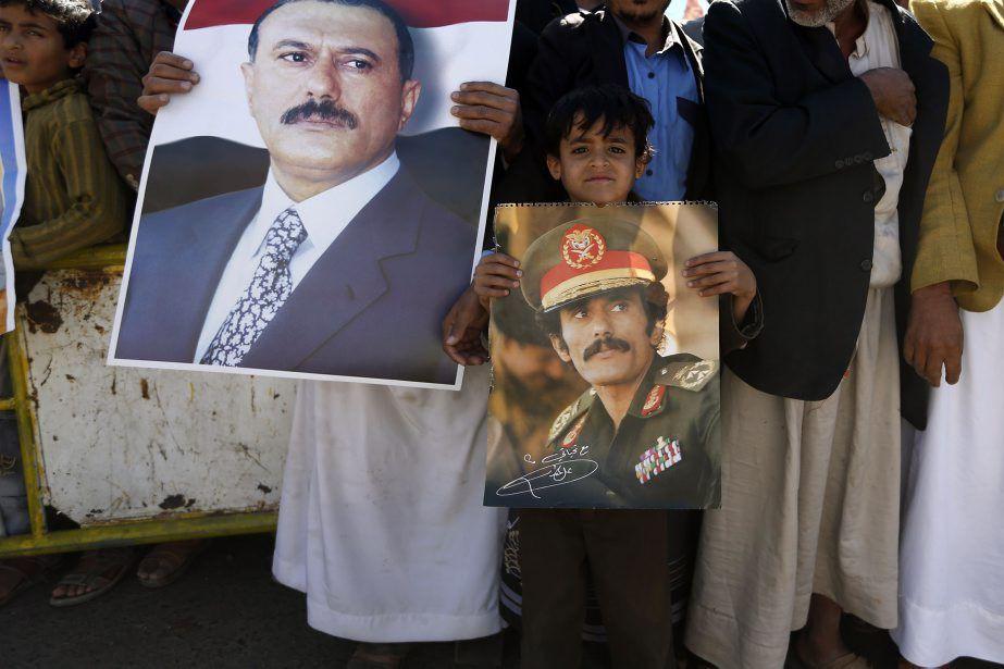 Ali AbdallahSaleh avait quitté le pouvoir au terme... (Photo Khaled Abdullah, REUTERS)