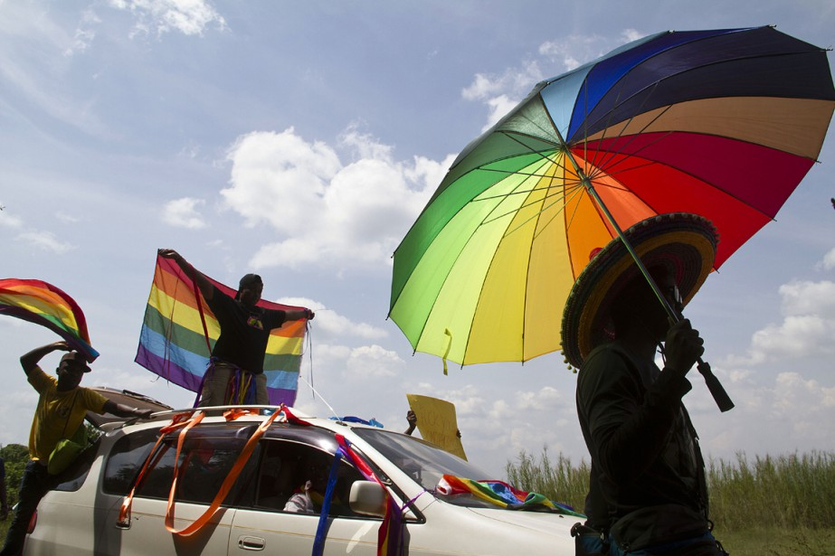 Des militants de la cause homosexuelle estiment que... (PHOTO ISAAC KASAMANI, ARCHIVES AFP)