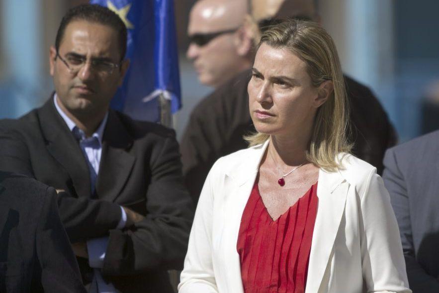 Federica Mogherini a prévenu que le monde «ne... (PHOTO MAHMUD HAMS, AFP)