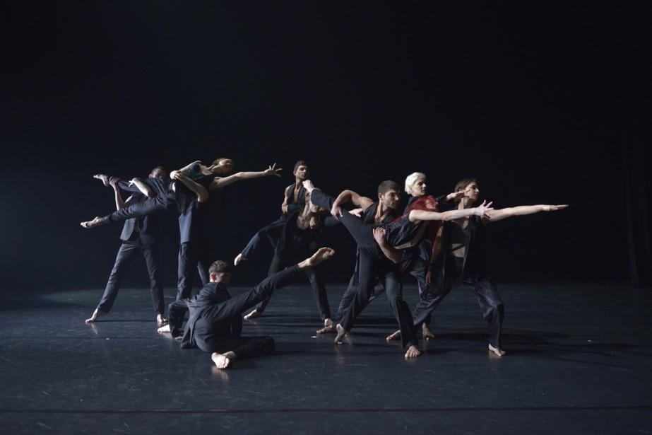 LesBallets Jazz de Montréal proposent deux créations -... (PHOTO FOURNIE PAR LA PRODUCTION)
