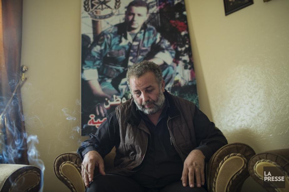 Maarouf Hamieh est inconsolable depuis que son fils... (PHOTO ÉDOUARD PLANTE-FRÉCHETTE, LA PRESSE)