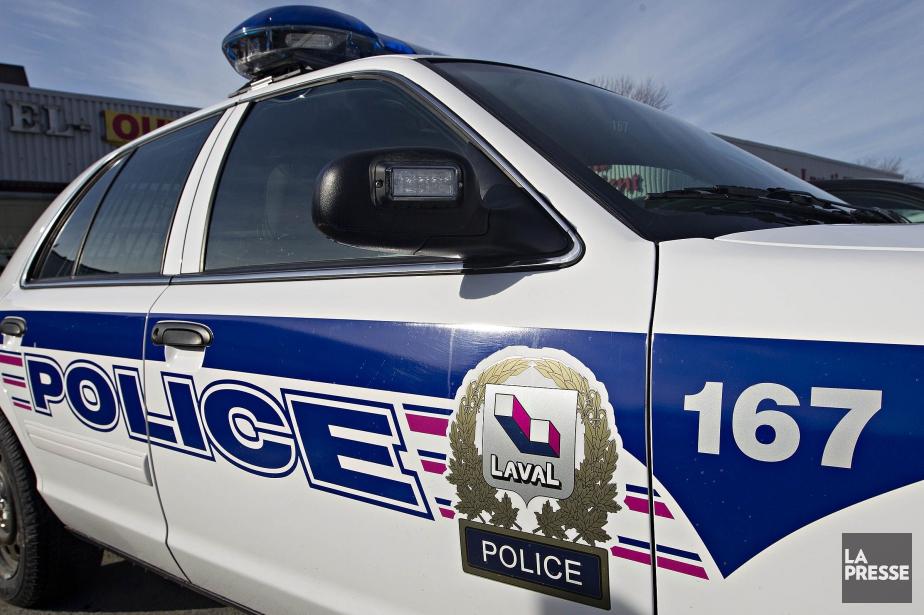 Le Service la police de Laval... (Photo Patrick Sanfaçon, archives La Presse)
